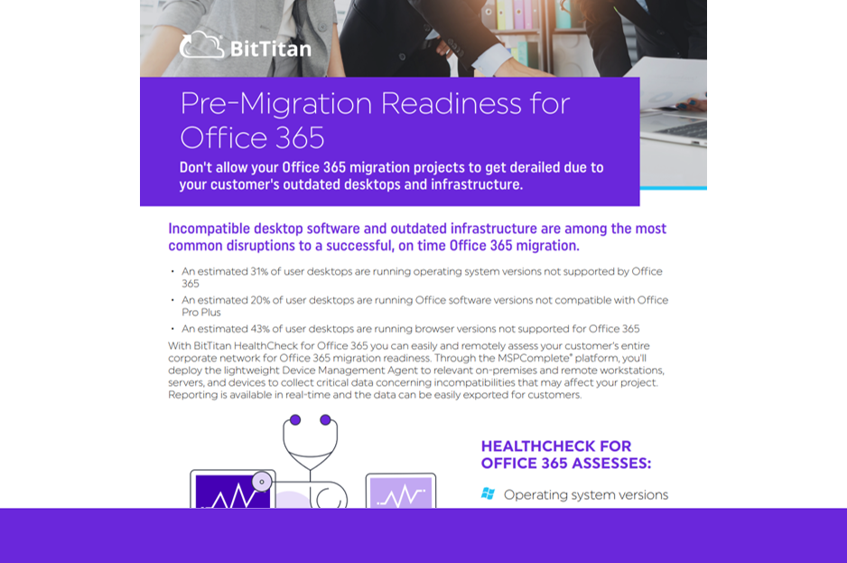 HealthCheck for Office 365