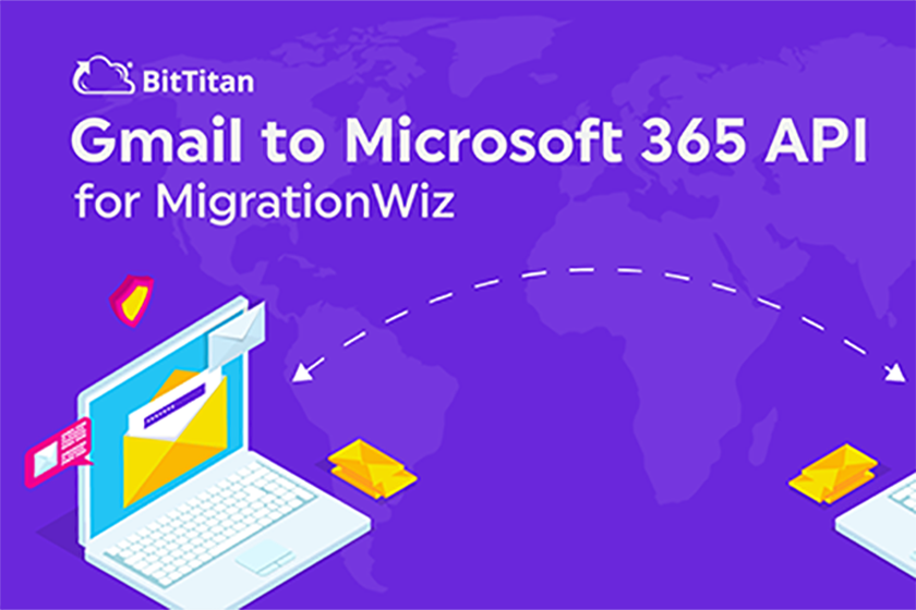 Gmail to Microsoft 365 Migrations are faster and more secure with MigrationWiz and the Gmail API