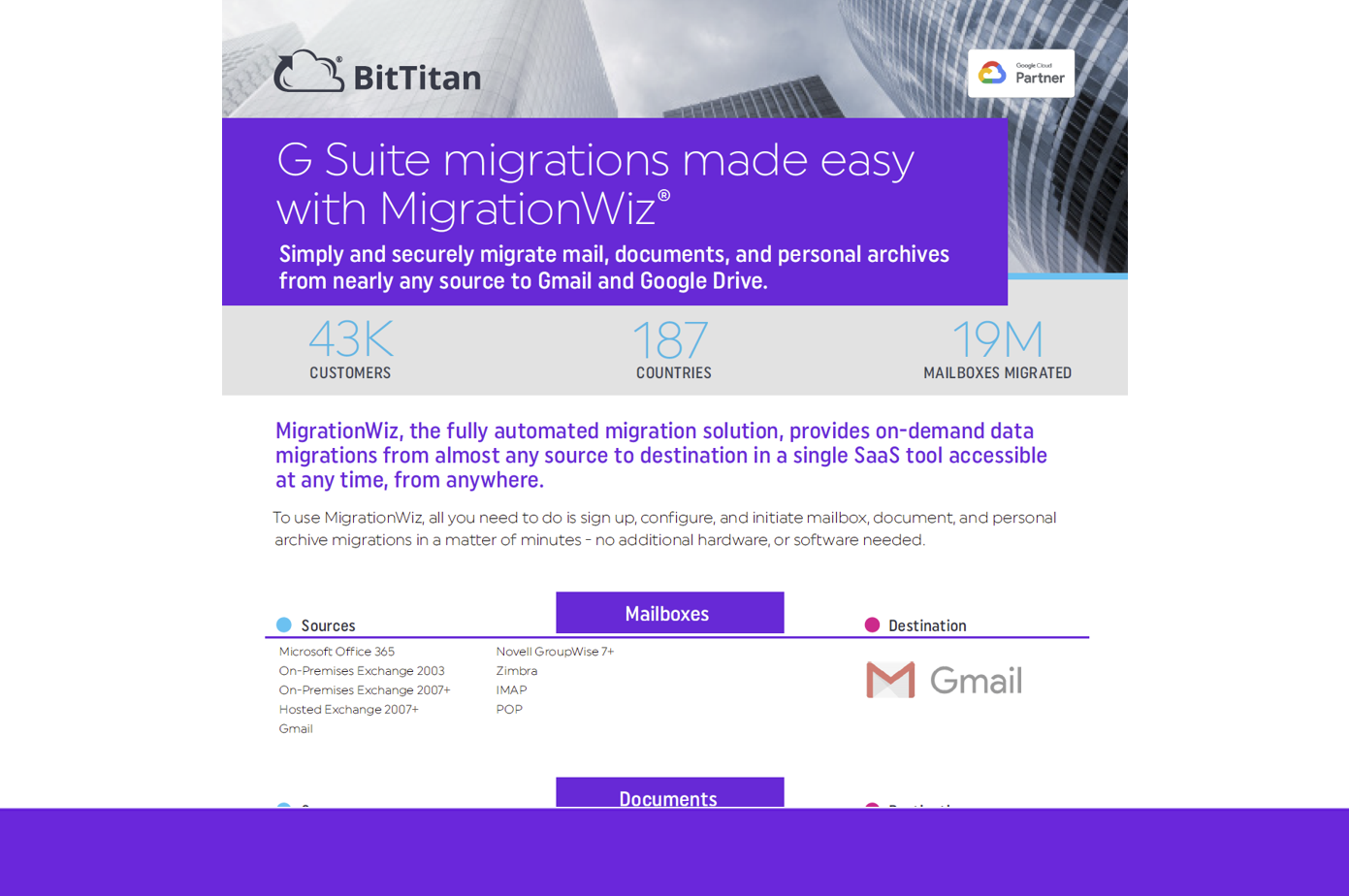 MigrationWiz Destination: G Suite